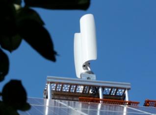 Mikrowindkraft auf dem Dach / Pressebild