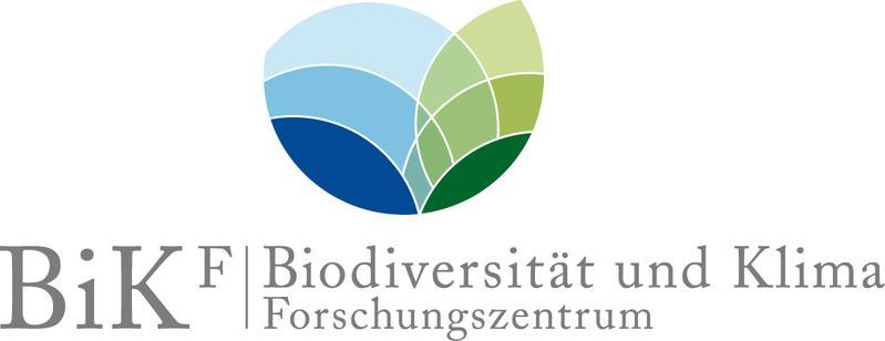 Logo des LOEWE Biodiversität und Klima Forschungszentrum (BiK-F)