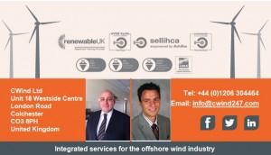 l. Ben Hooker Sales Manager UK & r. Stefan Marschner Sales Manager Germany