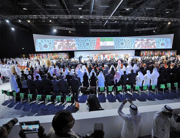 تمديد فترة انعقاد فعاليات أسبوع أبوظبي للاستدامة يوماً إضافياً