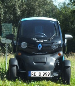 ZE: Elektro-Stadtflitzer von Renault / Foto: HB