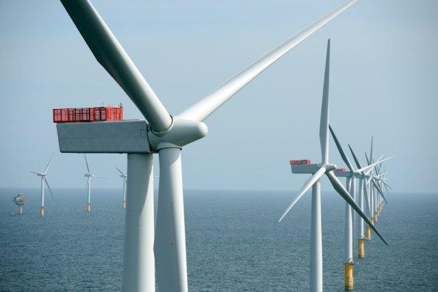 Beispiel eines Offshore-Windparks / Pressebild: Statkraft