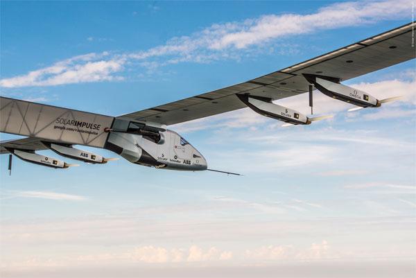 ABB und Solar Impulse bereiten sich auf historischen Flug um die Erde vor / Pressefoto: ABB