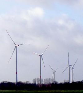 Eine Milliarde Euro für abgeschalteten Windstrom in 2015 / Foto: HB