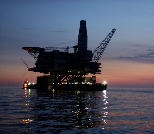 Erdgas-Förderplattform / Pressebild: VSG