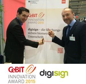 Markus Weber (links) und Prof. Andreas Dengel freuen sich über die Auszeichnung / pressebild