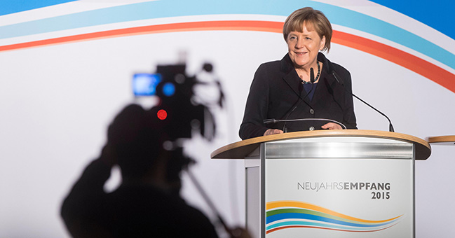 """Merkel zum Netzausbau: """"Wir wollen nicht mehr Leitungen bauen als notwendig, aber wir brauchen sie."""" Foto: Bundesregierung/Schacht"""