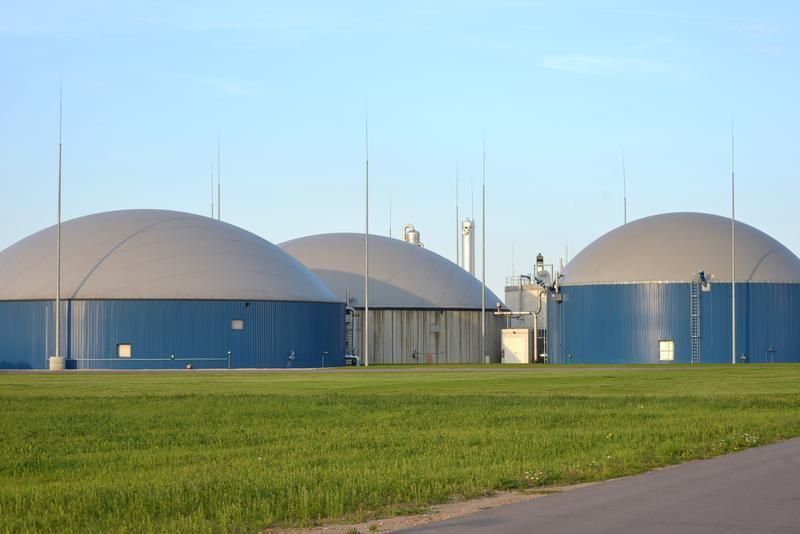 Biogasanlage der Naturgas Quesitz GmbH (© DBFZ)