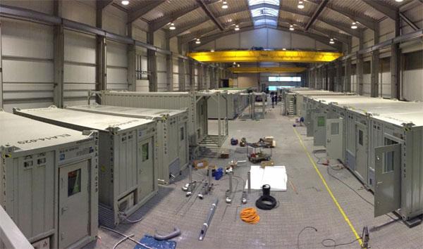 ELA investiert in die Produktion von neuen Containern / Pressebild