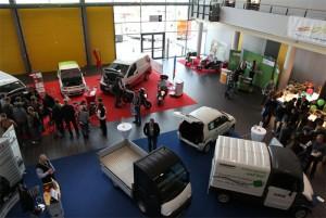 Ausstellung von Elektromobilität / Foto: HB