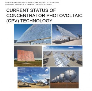 Current Status of Concentrator Photovoltaic (CPV) Technology (in englischer Sprache) [PDF document 4.7 MB]