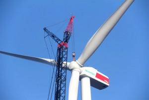 Errichtung der Windenergieanlage Kahnsdorf 1 erfolgreich abgeschlossen / Pressebild: CEPP Invest GmbH