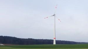 Windpark in Kallmünz (Bayern) / Pressebild: green energy 3000 AG