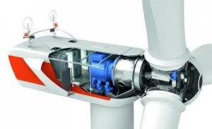 W2E-120/3fc (3-D-Schnitt) / Photo: W2E Wind To Energy GmbH