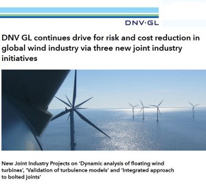 DNV GL experts are in attendance at EWEA OFFSHORE 2015 in Copenhagen between the 10th-12th March (Stand C1-B37).
