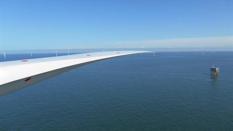 Offshore-Windpark fertig gestellt / Pressebild: Dong Energy