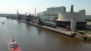 Das Kraftwerk Moorbug an der Süderelbe Copyright  © 2015 Vattenfall GmbH