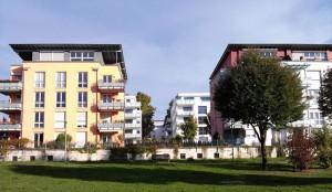 In der neuen Siedlung Sonnenberg sind Mehrfamilien-, Einfamilien- und Doppelhäuser geplant. (© Hochschule für Technik Stuttgart).