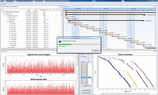 Nutzeroberfläche des COAST Software-Tools / Pressebild: Fraunhofer-IWES