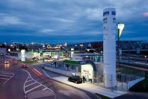OMV Tankstelle Stuttgart / Pressebild