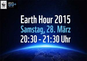 Klimapakt unterstützt Earth Hour 2015!