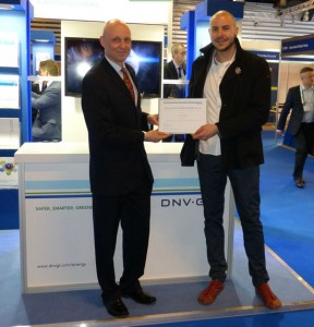 DNV GL, the world's largest resource of independent energy experts, today announced Nikola Vasiljević, Ph.D from DTU Wind Energy, the Technical University of Denmark, as the winner of the 2015 PhD Award in Renewable Energy. / Photo: DNV GL
