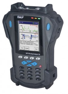 Die Analysatoren der GX-Baureihe können bis zu vier Messkanäle gleichzeitig erfassen. Die Geräte überzeugen durch vielfältige Einsatzmöglichkeiten und ein robustes, staub- und spritzwassergeschütztes Design. / Pressebild SKF