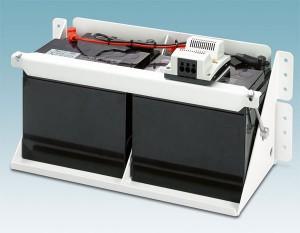 Schwere USV-Energiespeicher sicher montieren / Pressebild