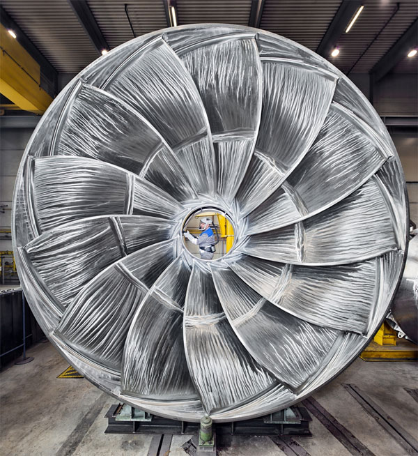 Voith-Francis-Turbine / Pressebild