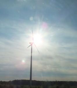 Windpark Hohenstein geht sukzessive in Betrieb /( Foto: HB