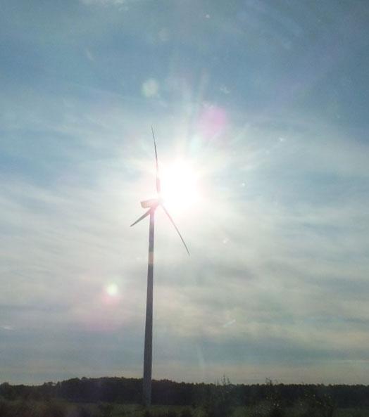 Windpark Hohenstein geht sukzessive in Betrieb / Foto: HB