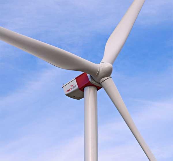 eno energy über die erfolgreiche Zertifizierung des Rotorblattes EB 56 für die eno 114 mit 3,5 MW Leistung / Pressebild