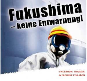 Aufruf zur Demonstration in Neckarwestheim am 08.03.15 anlässlich des 4. Fukushima-Jahrestages / Pressebild: ausgestrahlt.de