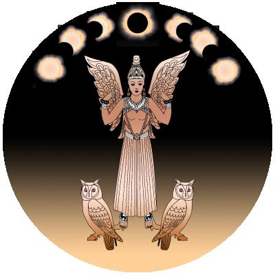 Lilith steht für die Sonnenfinsternis in der alten Astrologie / Bild: HB