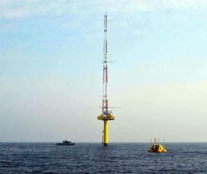 RWE Innogy setzt Erprobung von Messbojen für Wind- und Wellendaten fort / Pressebild
