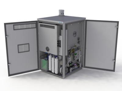 Der Hersteller der mit 60% elektrischen Wirkungsgrad revolutionären stromerzeugenden Heizung Bluegen befindet sich in Zahlungsunfähigkeit (Bild: Ceramic Fuell Cell Limited)