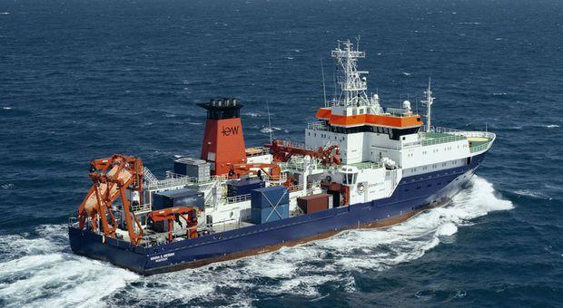 Forschungsschiff Maria S. Merian (© Briese Schiffahrts GmbH & Co. KG)