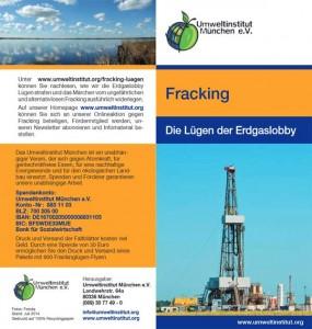 Unter www.umweltinstitut.org/fracking-luegen können Sie nachlesen, wie wir die Erdgaslobby Lügen strafen und das Märchen vom ungefährlichen und alternativlosen Fracking ausführlich widerlegen.