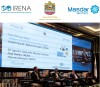 Expert panel at the launch event for Renewable Energy Prospects: United Arab Emirates