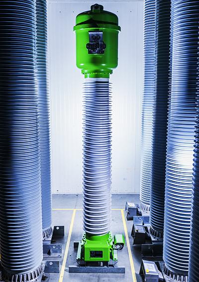 Alstom zeigt auf der Hannover Messe weltweit erste Hochspannungsgeräte mit dem Gas g3 als Ersatz für SF6 / Pressebild
