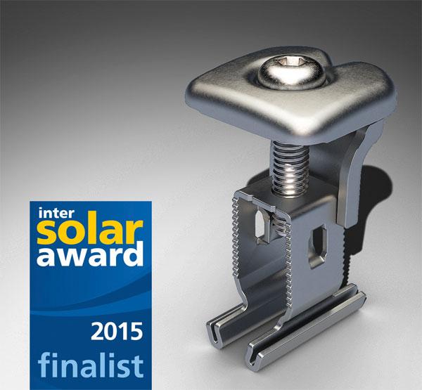 RS1 von Renusol unter den Favoriten des Intersolar Awards 2015 / Pressebild