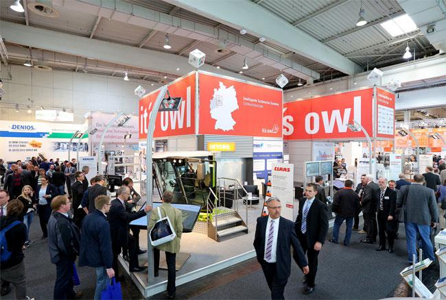 Intelligente Maschinen, Fahrzeuge und Anlagen - OWL-Gemeinschaftsstand Hannover Messe