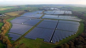 43.7 MWp Crundale Solar Farm in Pembrokeshire, UK / Pressebild