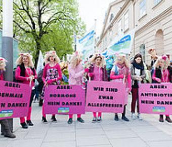 TTIP Demo u.a. in Wien / Pressebild: Global 2000