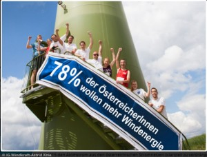 Pressebild: IG Windkraft