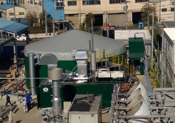 Die 250 kW-EnviWaste-Anlage / Pressebild
