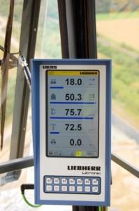 Die neue Litronic-Steuerung für Liebherr-Turmdrehkrane lässt sich individuell an die Bedürfnisse der unterschiedlichen Einsätze anpassen