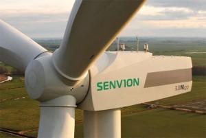 Die Senvion SE, eine hundertprozentige Tochtergesellschaft innerhalb der Suzlon-Gruppe, einer der weltweit größten Hersteller von Windkraftanlagen / Pressebild