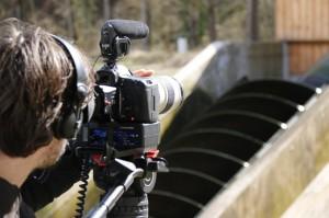 Wasserkraftanlage im Jagsttal / Pressebild