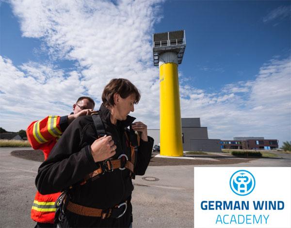 """Auf dem Gelände des """"Maritimen Campus"""" in Elsfleth wird die """"German Wind Academy"""" künftig ganzheitliche Aus- und Weiterbildungsangebote für die Windenergieindustrie anbieten."""